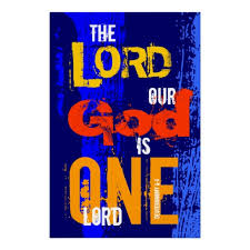 the lord is one
