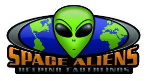 space aliens logo