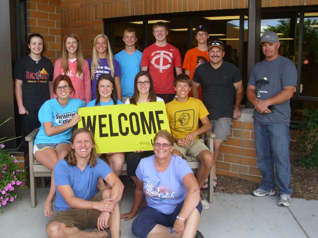 """High School Mission Trip to Minneapolis called """"Week of Hope.""""  In Jesus' name, our High School students served the Minneapolis community."""