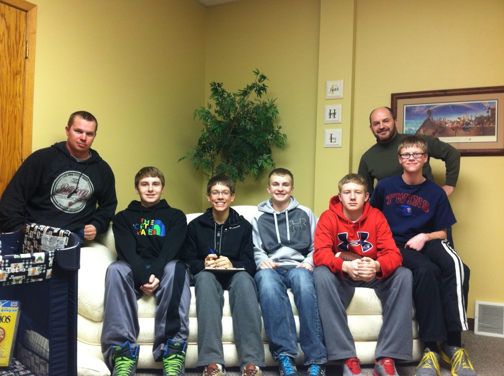 High School guys small group