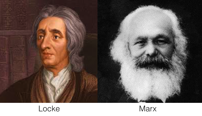 Locke and MArx